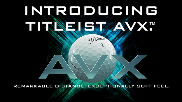 Introducing the new Titleist AVX golf ball. Remarkable Distance. Exceptionally Soft Feel.
